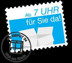 my DEPOT 24 Briefmarke